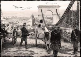 Blasting of the stone bridge from c.k. Austrian army.