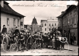 Participants of the Tour de Pelhřimov.